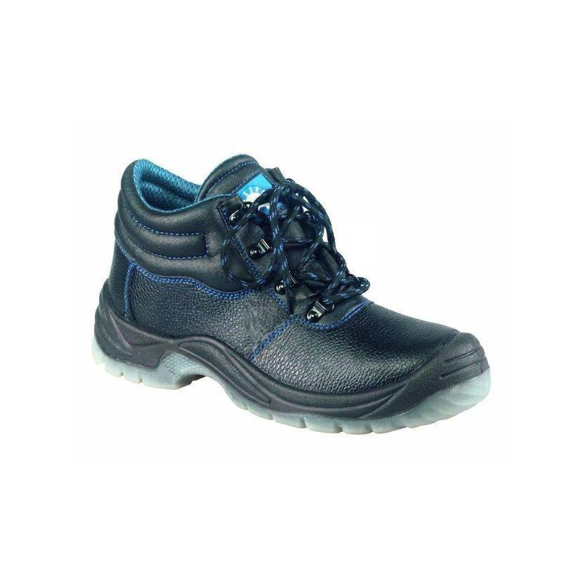 Pracovní obuv kotníková PARMA z potištěné hovězinové usně ac25e596ad