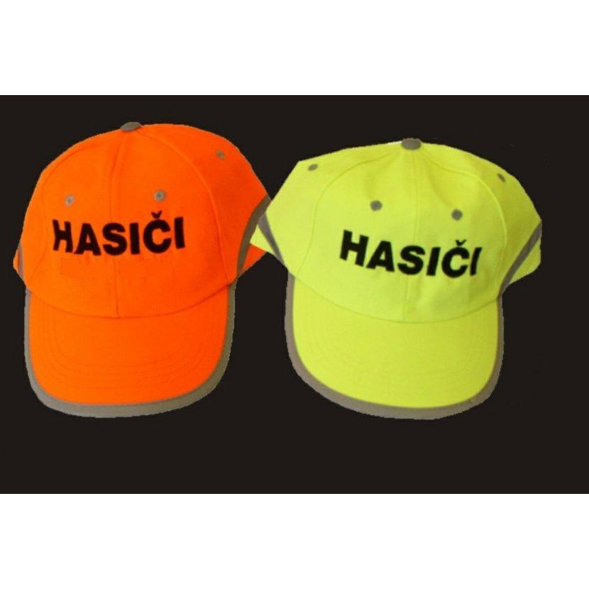 Reflexní čepice Tahr s nápisem Hasiči - žlutá 4b4917b3b0